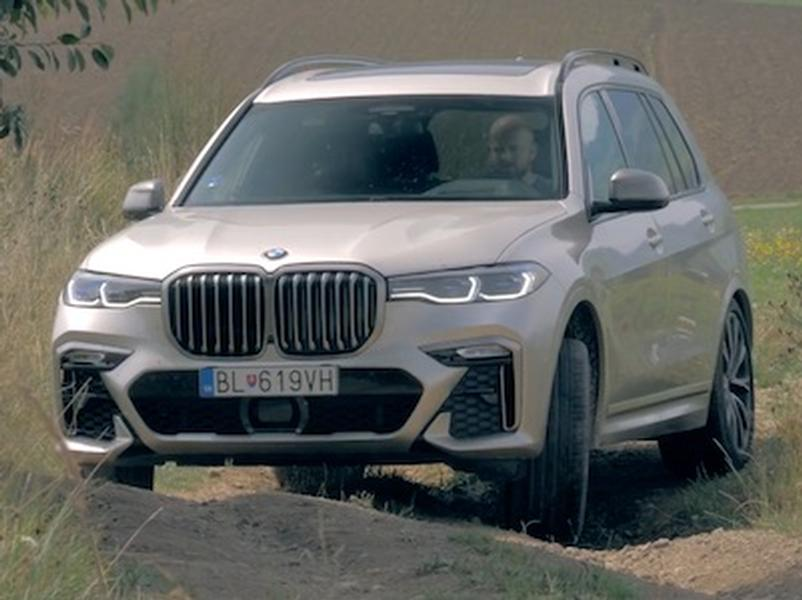 Video test BMW X7 M50d xDrive