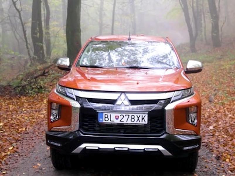 Video test Mitsubishi L200