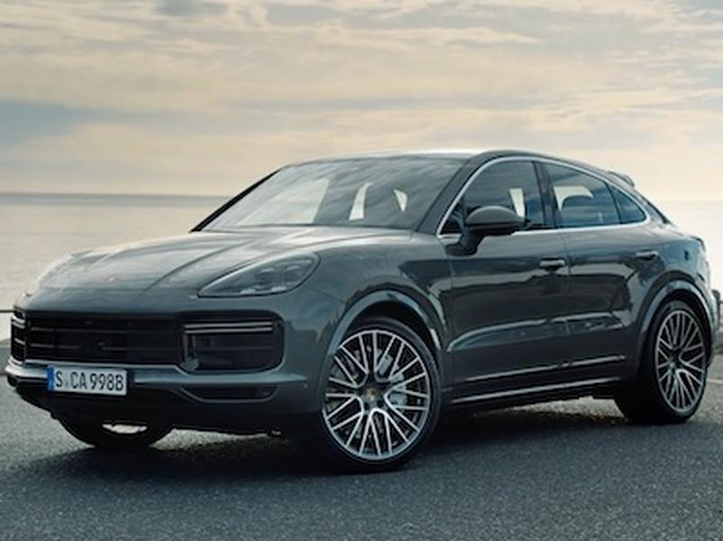 Video test Porsche Cayenne Coupe Turbo