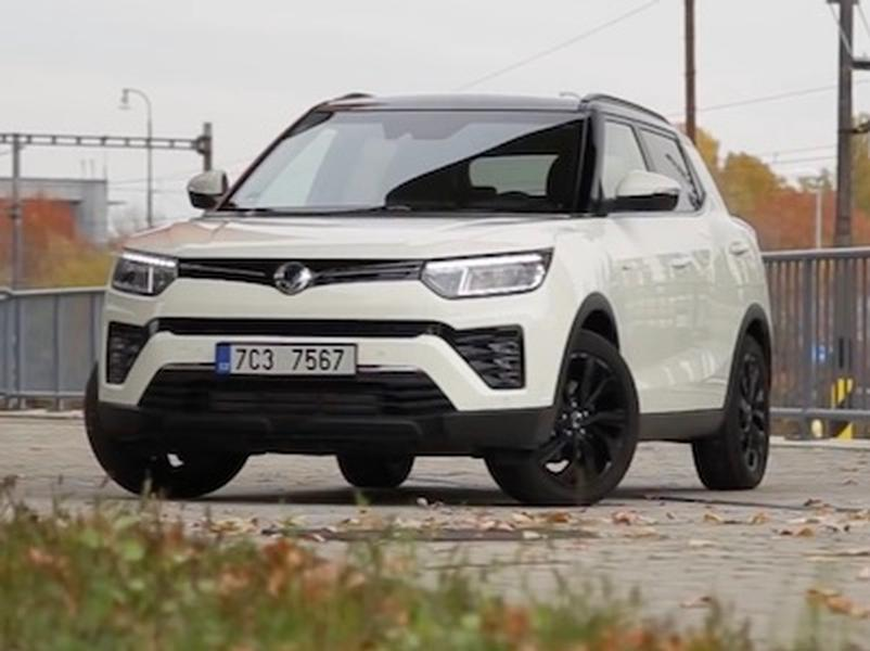 Video test SsangYong Tivoli