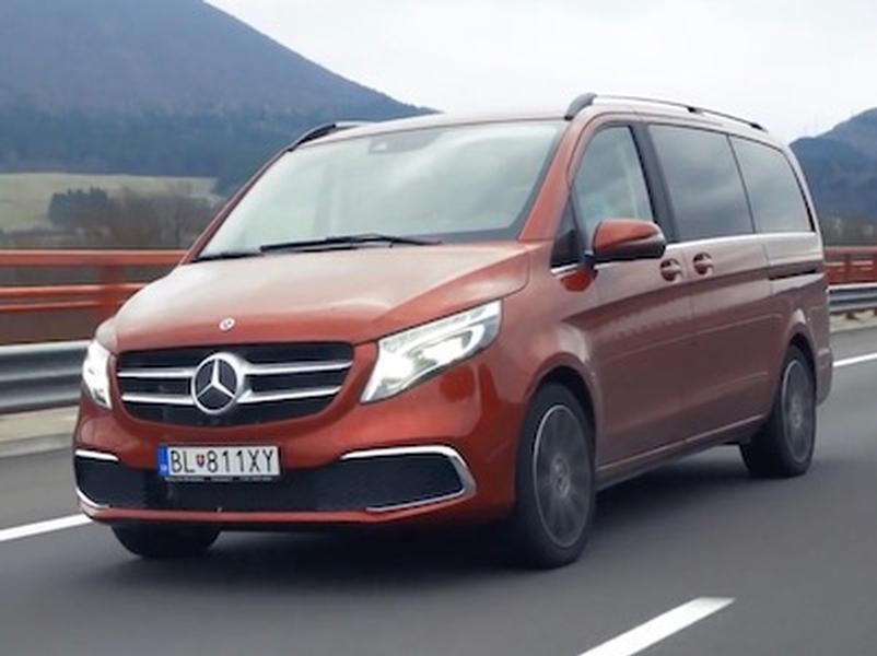 Video test Mercedes-Benz V 300d