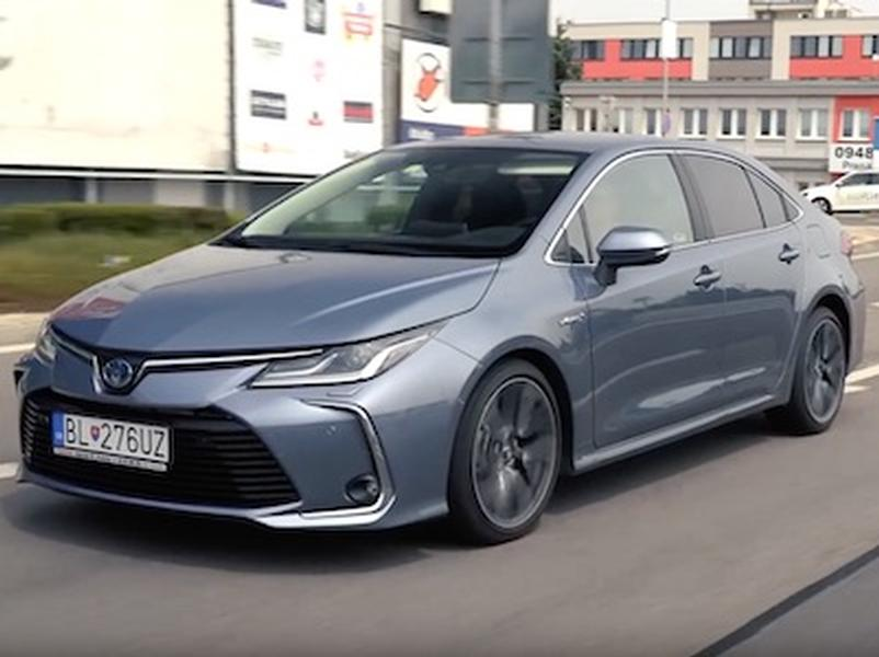 Video test Toyota Corolla hybrid