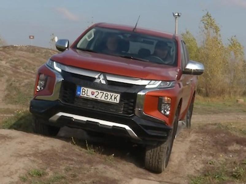 Video test Mitsubishi L200 Double Cab  2.3 DI-D MIVEC