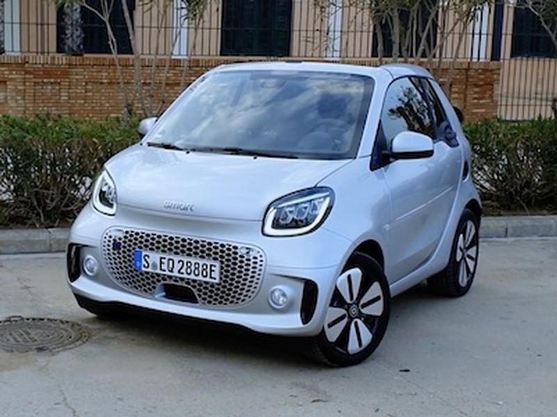 Video test Smart EQ Fortwo
