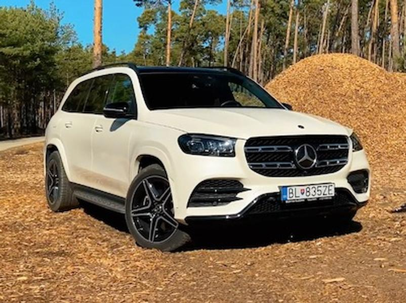 Video test Mercedes-Benz GLS 400d 4Matic