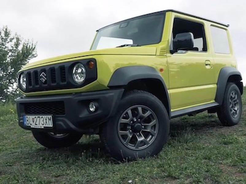 Video test Suzuki Jimny 4x4