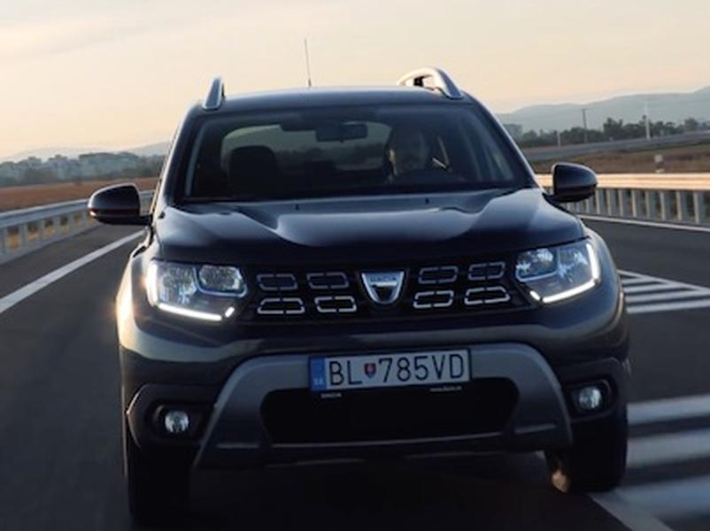 Video test Dacia Duster dCi 4x4 a Škoda Karoq Scout