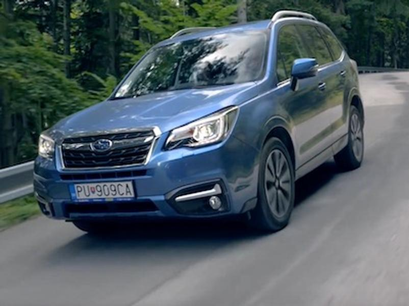Video test Subaru Forester 2,0i Boxer