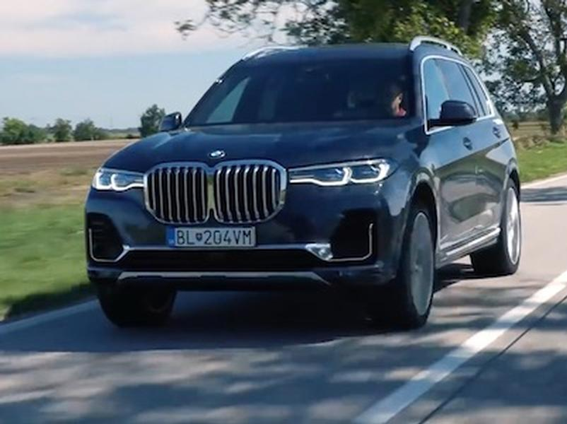 Video test BMW X7