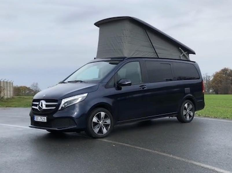 Video test Mercedes-Benz V250 4MATIC Marco Polo