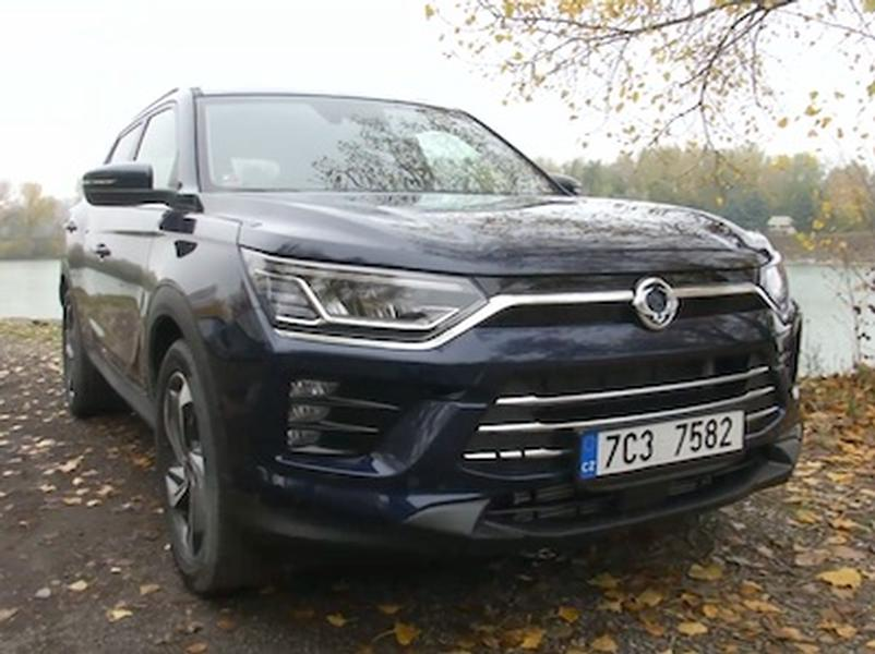Video test Ssangyong Korando 1.6 e-XDI