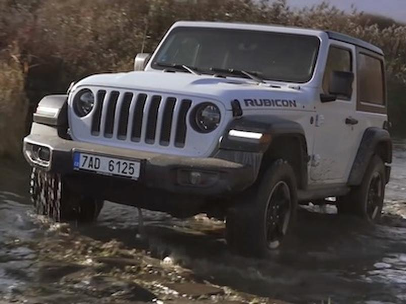Video test Suzuki Jimny vs. Lada Niva vs. Jeep Wrangler