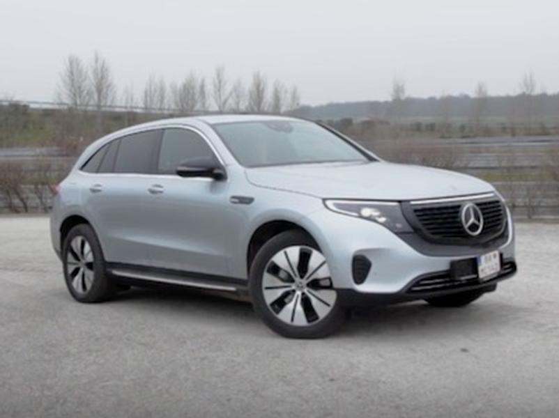 Video test Mercedes EQC 400