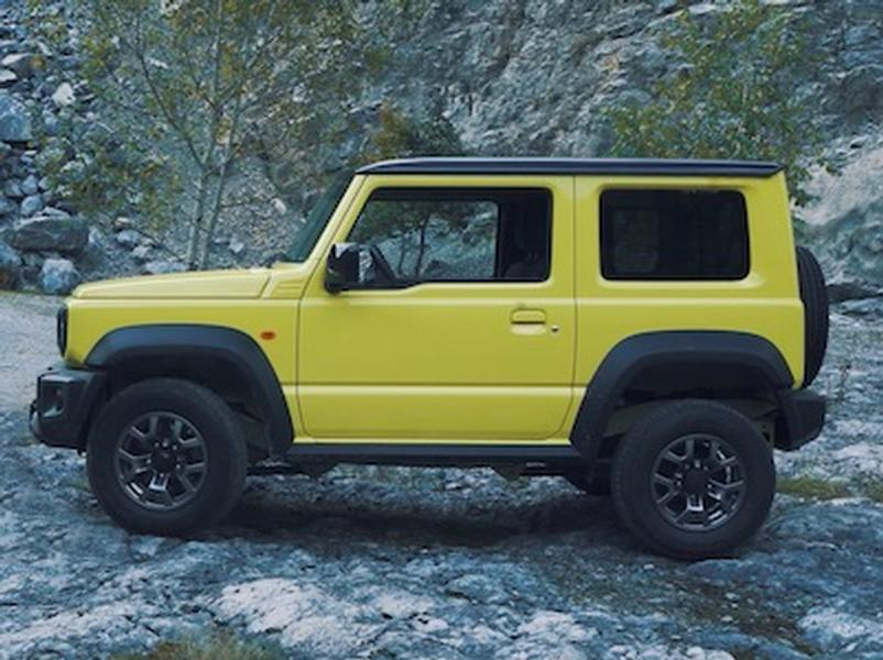 Video test Suzuki Jimny