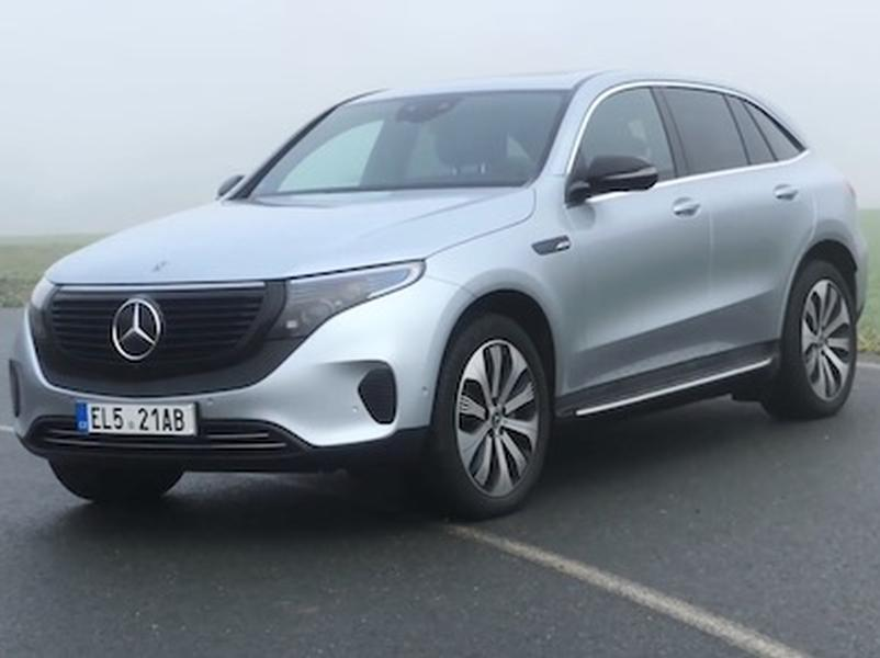 Video test Mercedes-Benz EQC 400 4MATIC