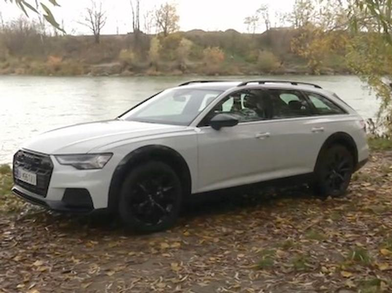 Video test Audi Allroad  50 TDI