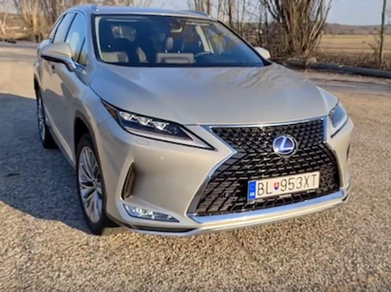 Video test Lexus RX 450hL