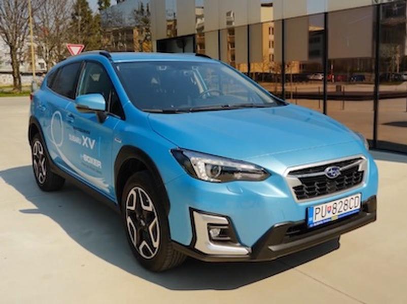 Video test Subaru XV 2.0 e-Boxer