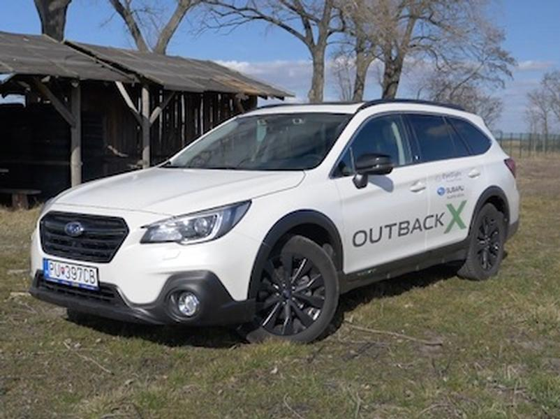 Video test Subaru Outback X