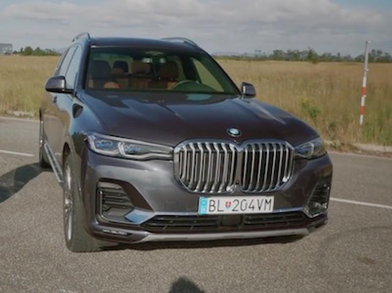 Video test BMW X7 3.0 xDrive