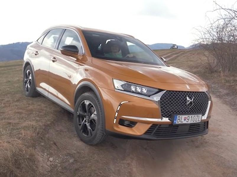 Video test DS7 Crossback BlueHDi 180