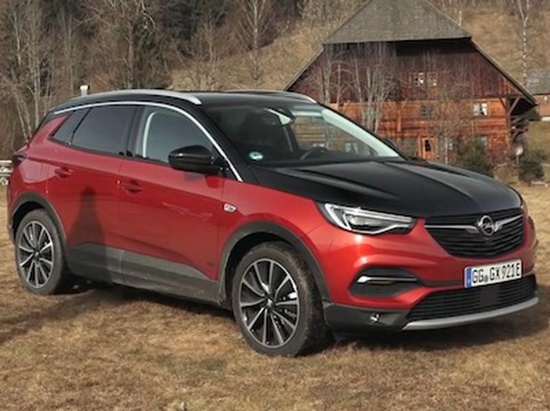 Video test Opel Grandland X Hybrid4