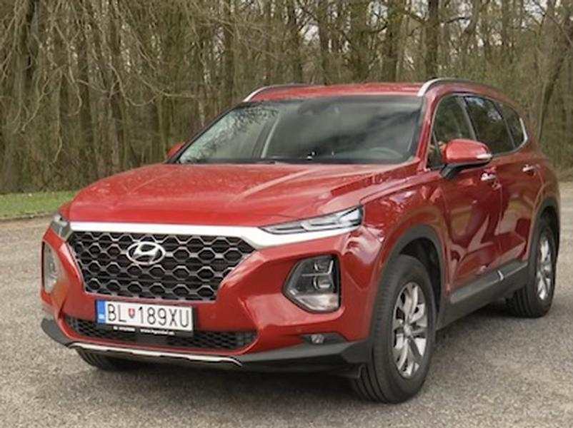 Video test Hyundai Santa Fe 2.0 CRDi