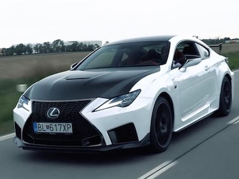 Video test Lexus RC-F