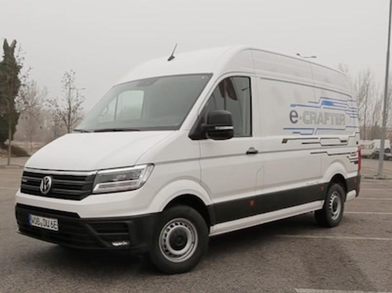 Video test Volkswagen e-Crafter
