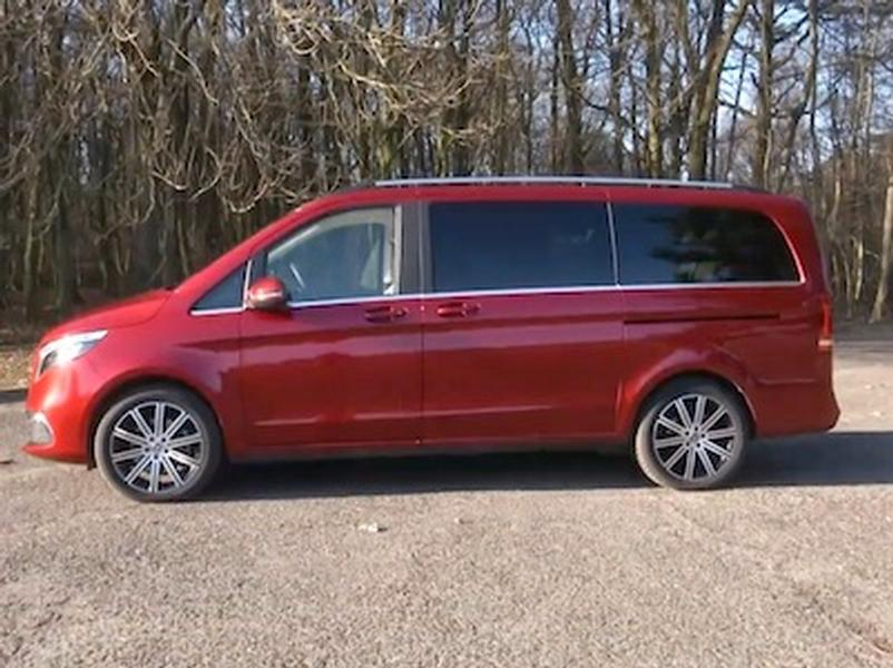 Video test Mercedes-Benz V300d