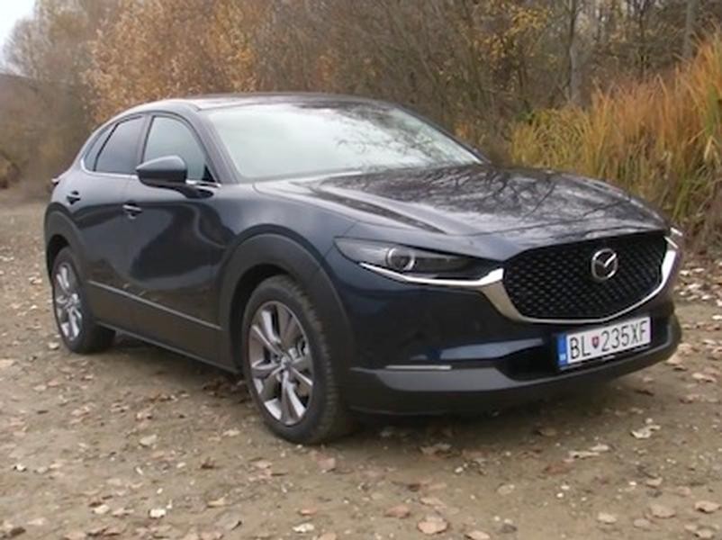 Video test Mazda CX-30 SKYACTIV G122