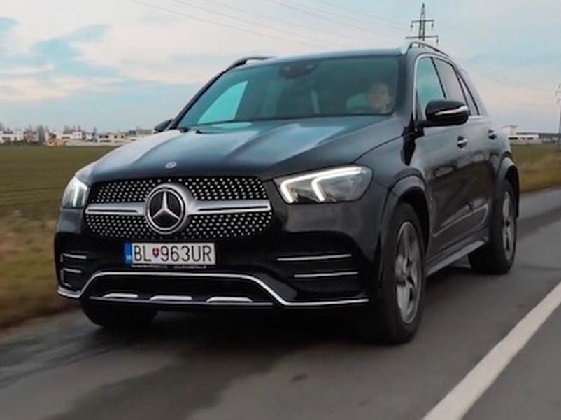 Video test Mercedes-Benz GLE 450.