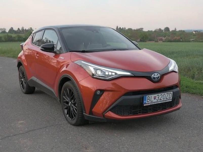 Video test Toyota C-HR Hybrid 2.0