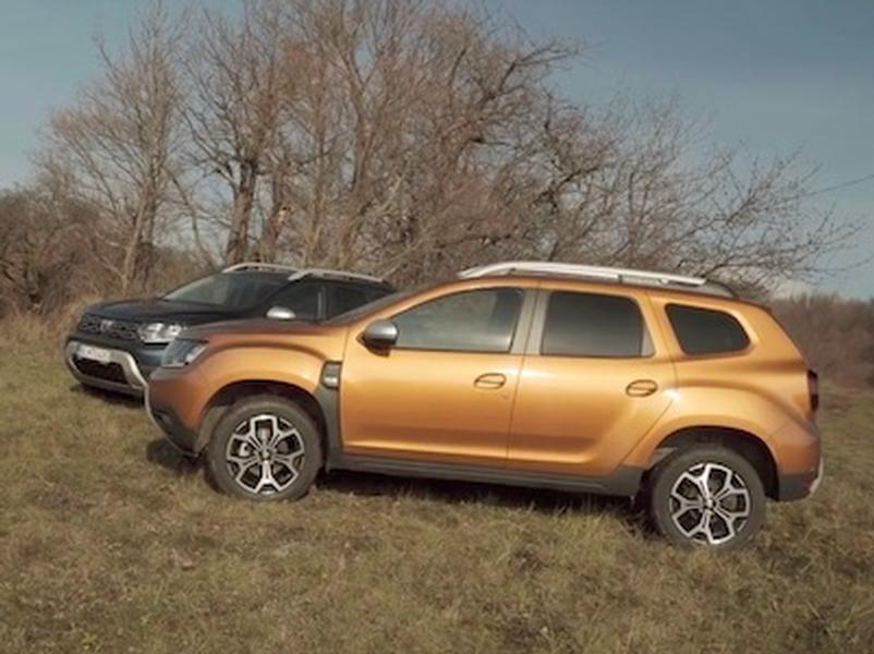 Video test Dacia Duster 1.0 TCe vs 1.3 TCe 4x4