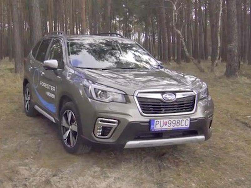 Video test Subaru Forester e-Boxer