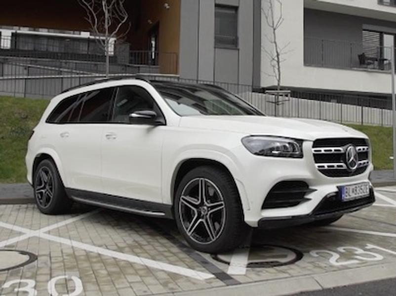 Video test Mercedes GLS 400 d