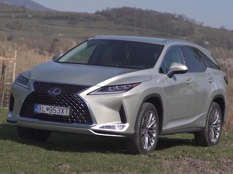 Video test  Lexus RX 450 hL