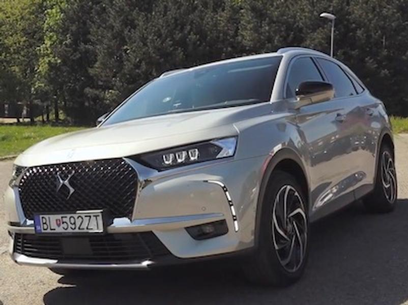 Video test DS7 Crossback Plug-in Hybrid AWD