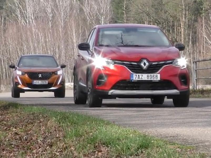 Video test Peugeot 2008 vs. Renault Captur