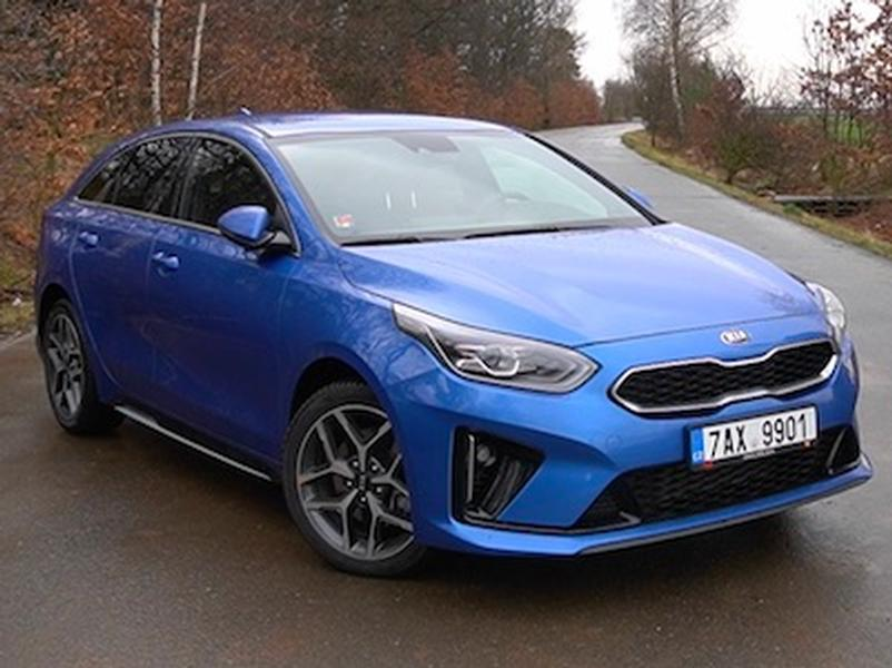 Video test Kia ProCeed 1.6 CRDi