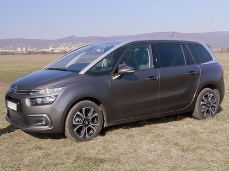 Video test Citroen C4 SpaceTourer
