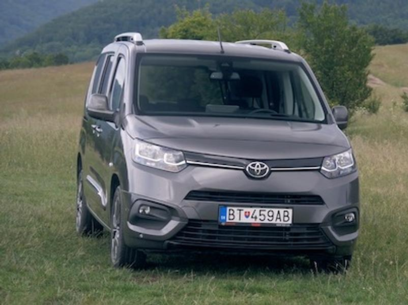 Test Toyota Proace City Verso1,5 D-4D