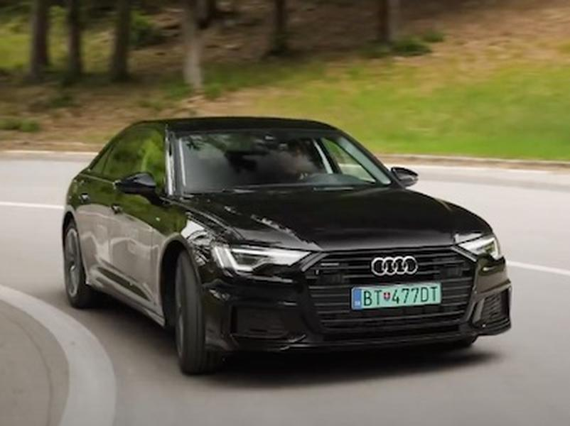 Video test Audi A6 55 TFSIe quattro