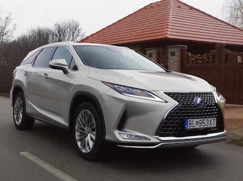 Video test Lexus RX