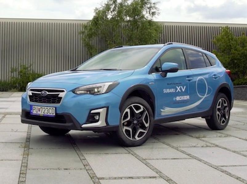 Video test Subaru XV 2,0 e-Boxer