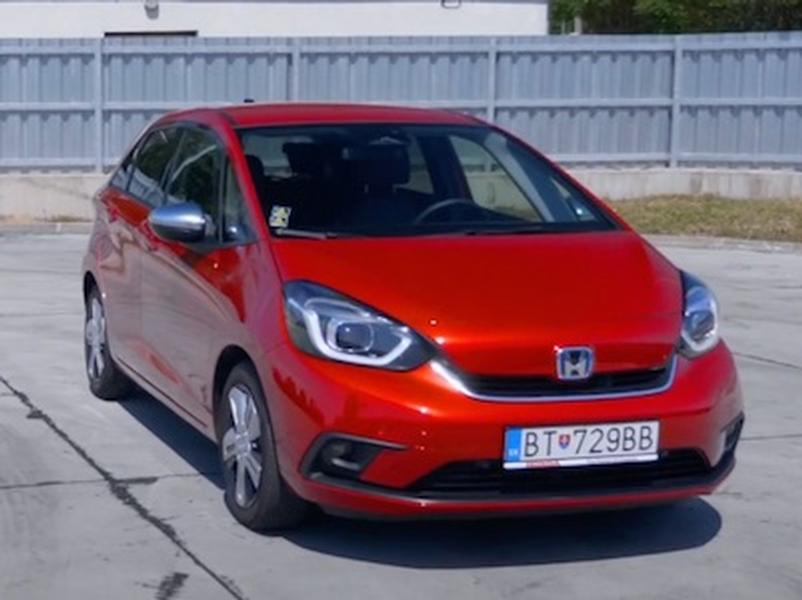 Video test Honda Jazz 1.5 i-MMD