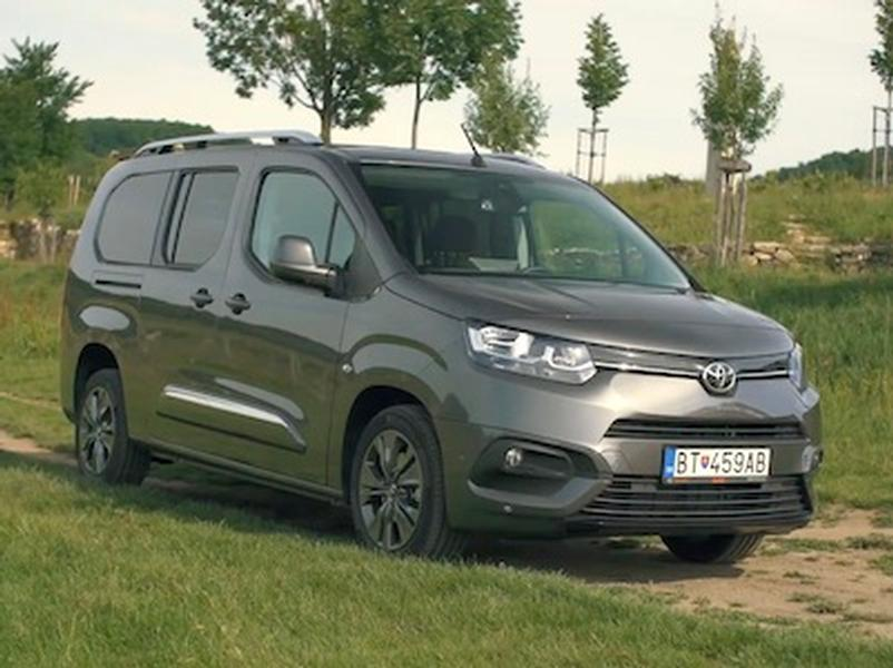 Video test Toyota ProAce City Verso Long