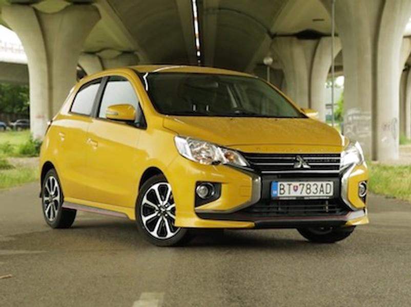 Video test Mitsubishi Space Star 1.2 MIVEC CVT