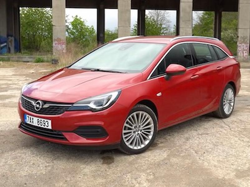 Video test Opel Astra ST 1.5 CDTI