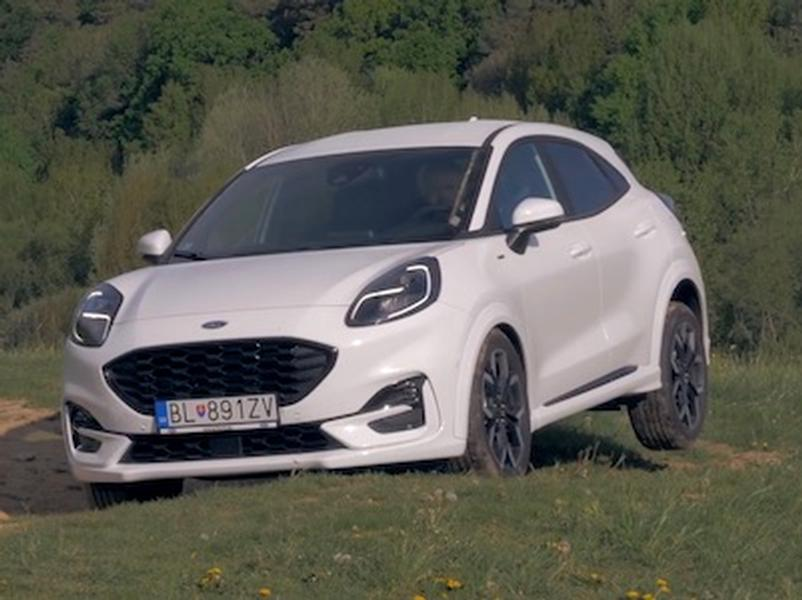 Video test Ford Puma 1,0 EcoBoost